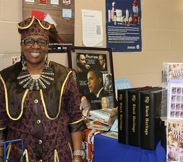 Free Union Post Office Celebrates Black History Month