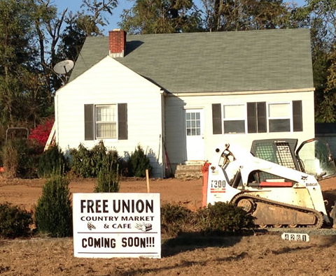New Free Union Café appears to be a cruel hoax
