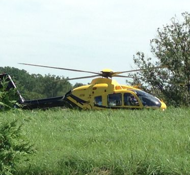Car Accident on Free Union Road Results in Helicopter Evacuation