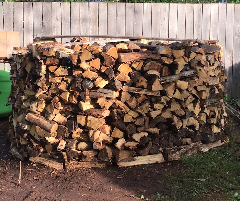 Free Firewood at the Church of the Brethren